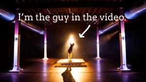 I'm the guy in the video.